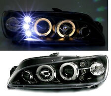 Black clear finish angel eye HALO headlights for PEUGEOT 306 97-01