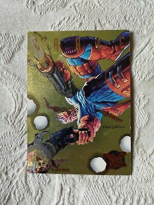 Bishop #5//9 Fleer Ultra Hunters And Stalkers 1995 Marvel Card C649