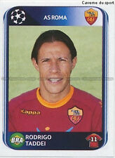 N°303 RODRIGO TADDEI # BRAZIL AS.ROMA UEFA CHAMPIONS LEAGUE 2011 STICKER PANINI