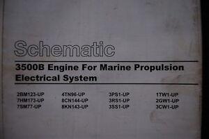Caterpillar 3500B Engine Wiring Schematic Manual repair ...