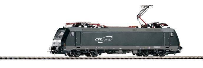 PIKO 59542 E-Lok BR 185 566-7 CFL Cargo ; Digital Disponible; 2 años garantía