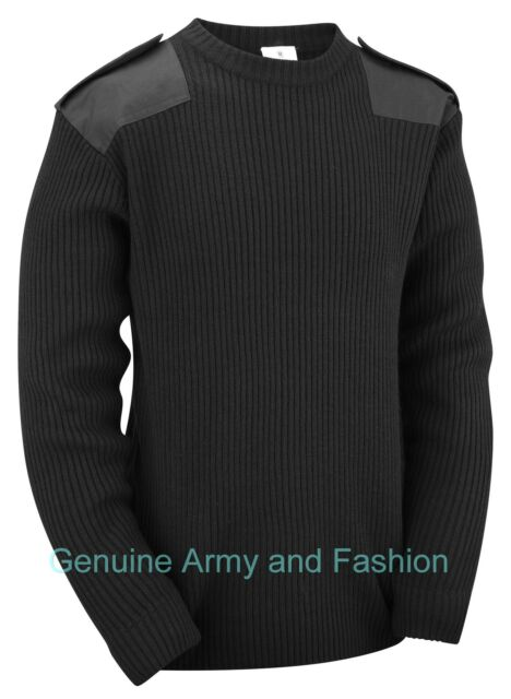 NEW MILITARY COMMANDO SECURITY SWEATER PULLOVER XS-XXXL