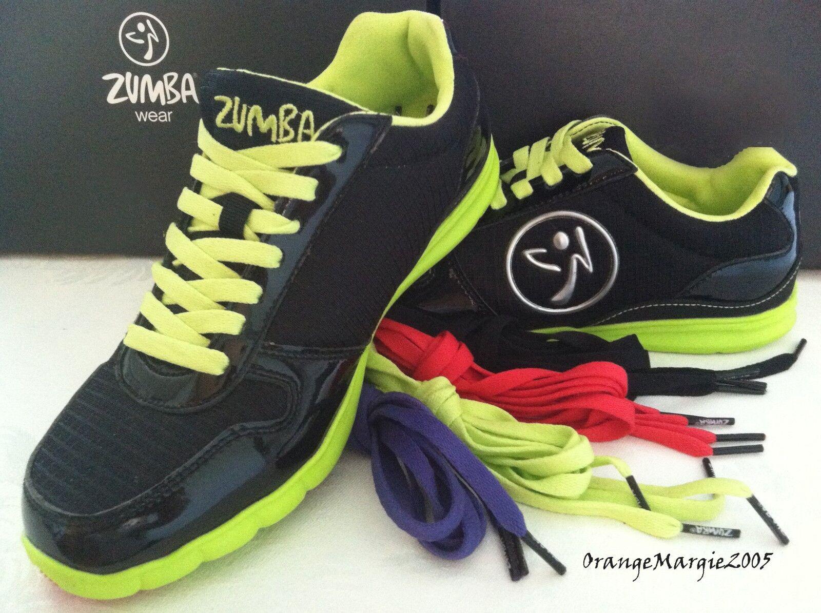 Zumba ZKICKZ schuhe TRAINERS Turnschuhe HIPHOP DANCE DANCE DANCE  The Original Official 6,7,8,9 421213