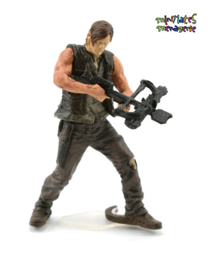 McFarlane Walking Dead Building Construction Set Series 1 Daryl Dixon