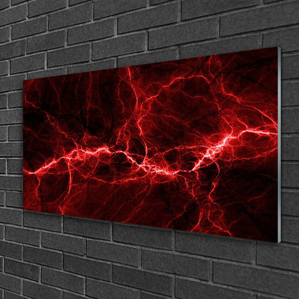 Glass print Wall art 100x50 Image Picture Abstract Art