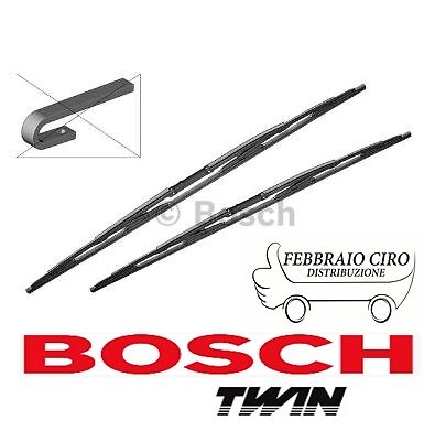 2 SPAZZOLE TERGICRISTALLI TERGICRISTALLO 550mm BOSCH 3397001909 TWIN 909 Audi A4