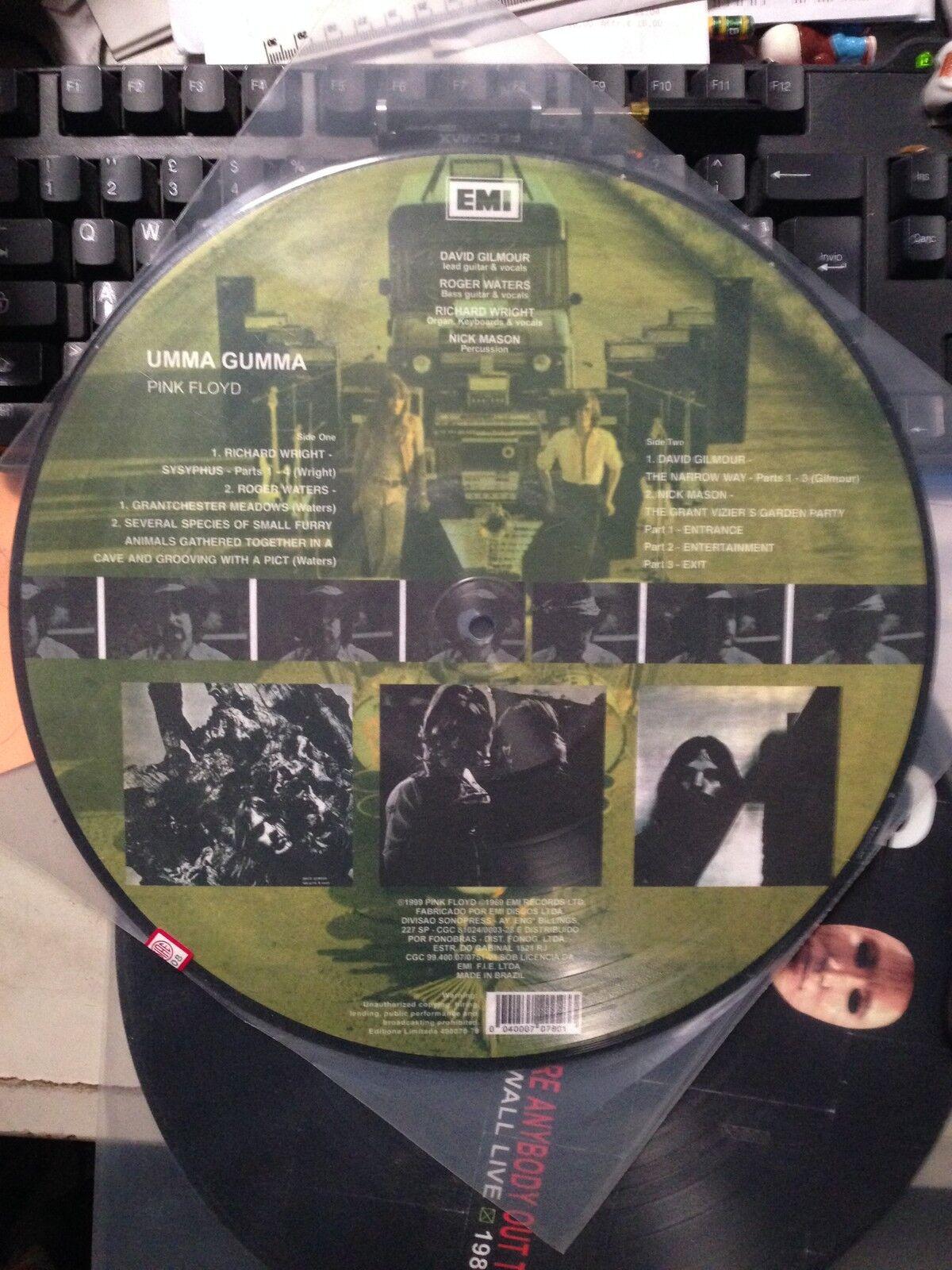 rose FLOYD - UMMA GUMMA - LP VINYL PICTURE DISC  - RARO