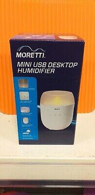 Moretti Mini DesktopBedroom Portable USB Humidifier Brand New sealed | eBay