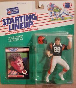 1989 Tim krumrie Starting Lineup | Cincinnati Bengals | NFL | Black Jersey