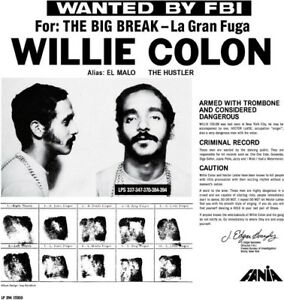 Willie-Colon-Wanted-By-The-Fbi-Big-Break-Gran-Fuga-New-Vinyl