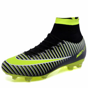 Details about Men's Soccer Shoes Football Sneakers Soccer Cleats Fashion Outdoor Soccer Boots