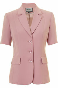 Pink Sleeve Jacket Dusty Busy Ladies Short doCexWrB