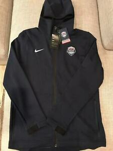 Eh zorro pierna  New Nike Team USA Basketball Dry Showtime Hoodie Jacket AT4961-451 Size L  193145159075 | eBay