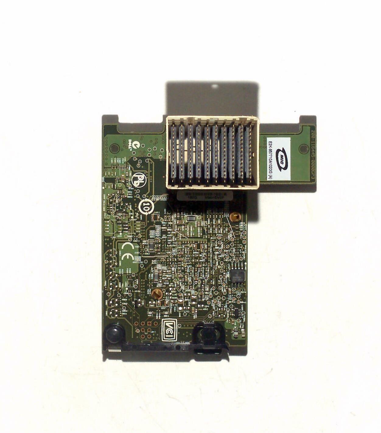 Dell Broadcom nextreme II 57710 10gbe dual port mezzanine card 0w807f w807f