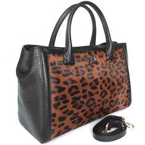 aca6846e279e Image is loading CLASS-Roberto-Cavalli-designer-leopard-pattern-fur-black-