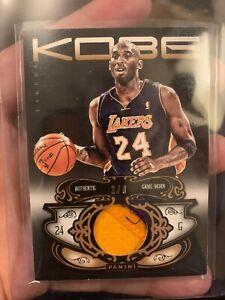 Details about Kobe Bryant - Jersey Patch- 2012-13 Kobe Anthology Prime Patch #'d/8