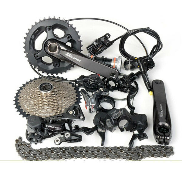 Shimano Deore M6000 20 Speed Groupset 28-38T