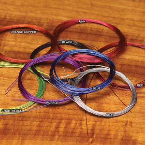 Base de l'intrus remorque fil saumon & truite fly tying-Mince ou standard-afficher le titre d`origine JSteEaiN-07135526-999416705