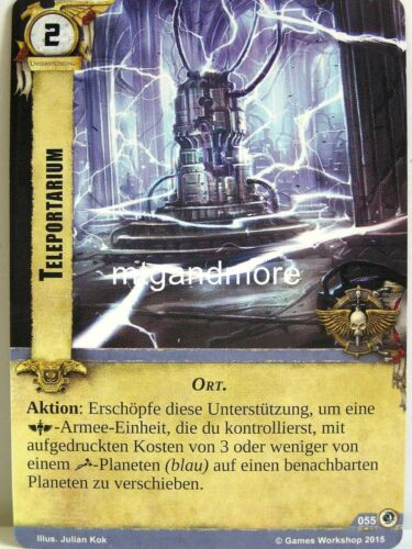 Teleportarium  #055 Warhammer 40000 Conquest LCG Tödliche Fracht