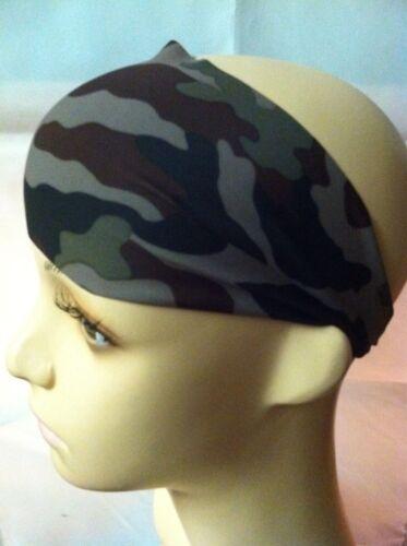 Dark Camouflage Wide Headband NWT