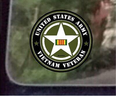 One ProSticker 1074 4 Military Series United States Navy Vienam Veteran Decal Sticker ProSticker.com
