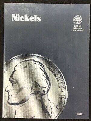 Nickels No Dates Blue Whitman Folder #9042 New