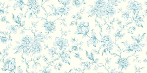 Toile De Jouy Style Jardin Flower Wallpaper Chinoise Delicate Wall Decor