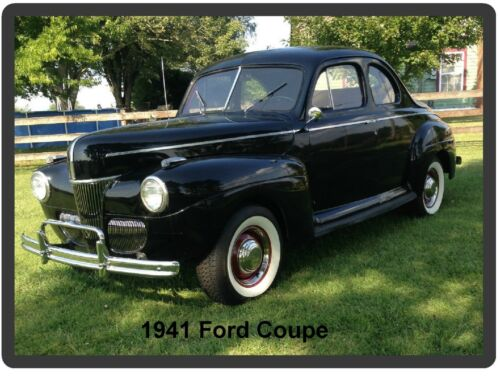1941 Ford Coupe Auto Refrigerator Tool Box Magnet Man Cave Gift Item