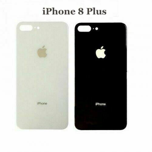 s l1600 - Tapa Trasera de Cristal Compatible con iPhone 8 8 Plus X XS XS Max XR Bateria