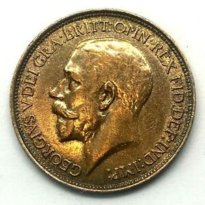1912-GREAT-BRITAIN-GEORGE-V-1-2-HALF-PENNY-BRONZE-BU-COIN-KM-809