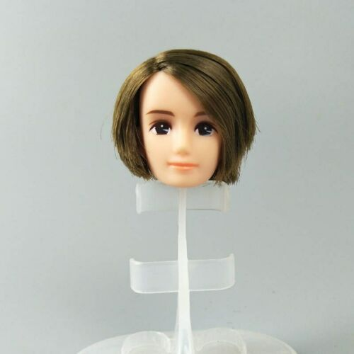 Soft High Quality DIY Doll Heads For Licca Doll Head For Jenny 1//6 BJD Girl Doll