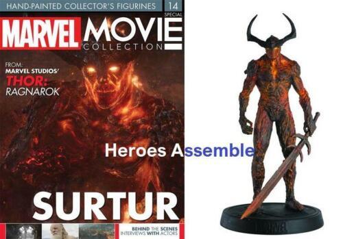 Película De Colección Especial Surtur MARVEL estatuilla EAGLEMOSS Thor Ragnarok Nuevo