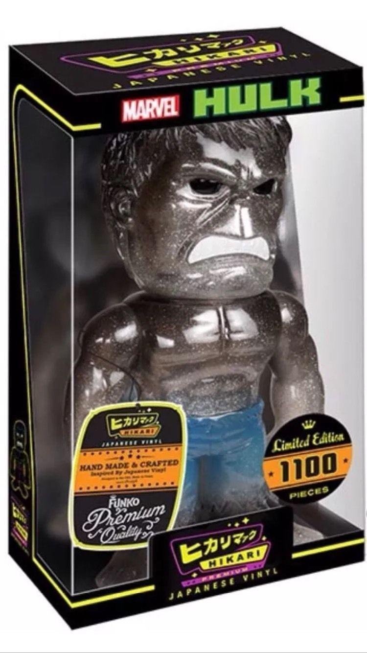 Hulk sturm glitter premium hikari sofubi vinyl - bild - funko - ltd.