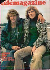▬►Télé Magazine 994 (1974) LES FARGEOT_MADELEINE RENAUD_HUMPREY BOGART_POLAC