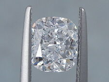 2.01 CARATS CUSHION CUT CERTIFIED LAB GROWN DIAMOND D SI1
