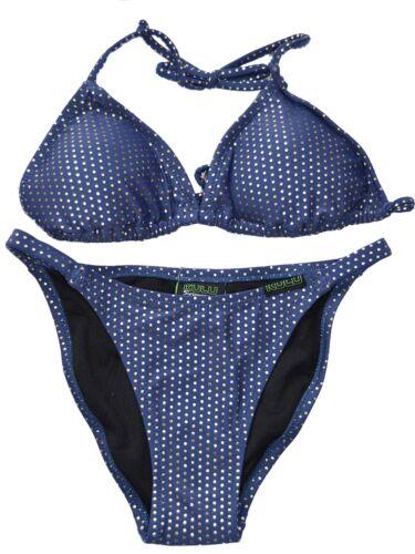 Nuevo Kulu Swimwear triángulo Top Bikini Tanga cara calzoncillos Set Elegir Tamaño 3k1h