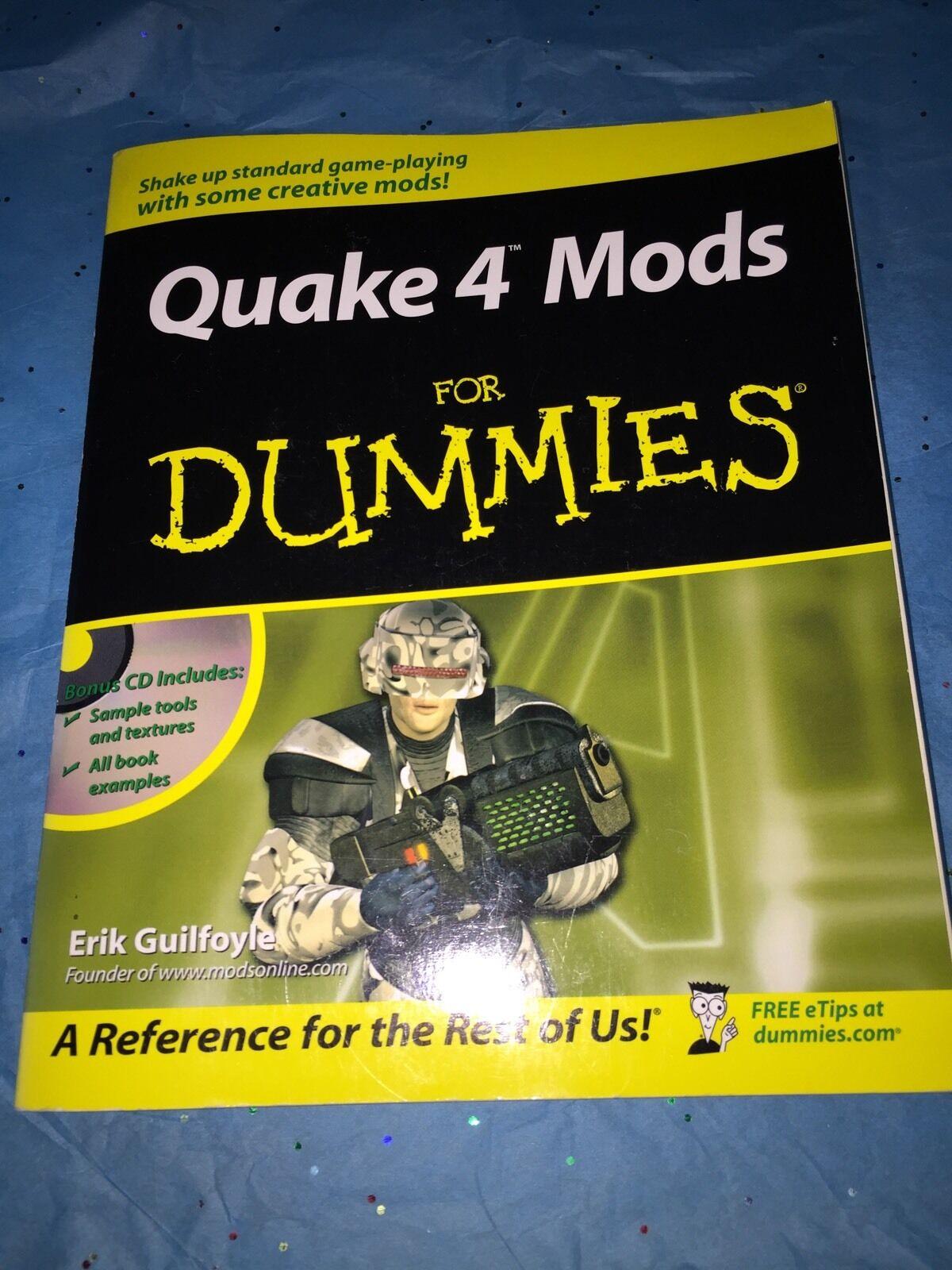 Quake 4 Mods for Dummies by Erik Guilfoyle (2006, Paperback)