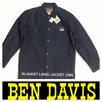 Ben Davis Original Style Jackets Blanket Lined 396 Denim Blue