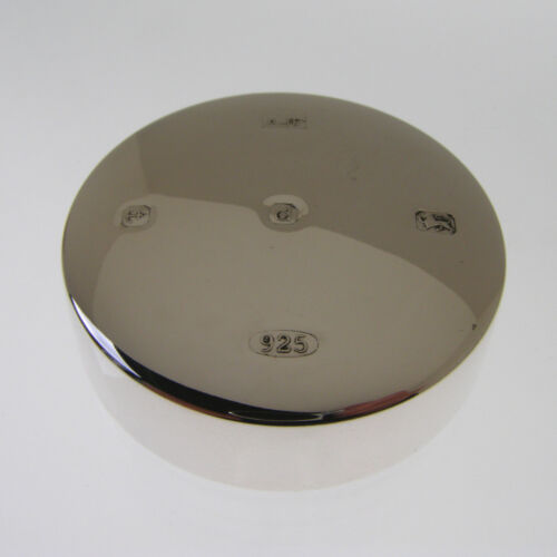 HALLMARKED SILVER PAPERWEIGHT STERLING SILVER PAPER WEIGHT WITH LARGE HALLMARK
