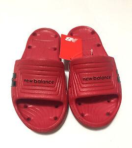 96487ab28108f RED New Balance Float Slide MENS Lightweight Sandals 7 8 9 10 11 12 ...