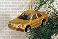 Mercedes-benz 2.6 Gold 4 Door Sports Car Christmas Ornament Xmas