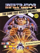 Infiltrator (U.S. Gold) Amstrad CPC Game - VGC & Complete - More in Store!