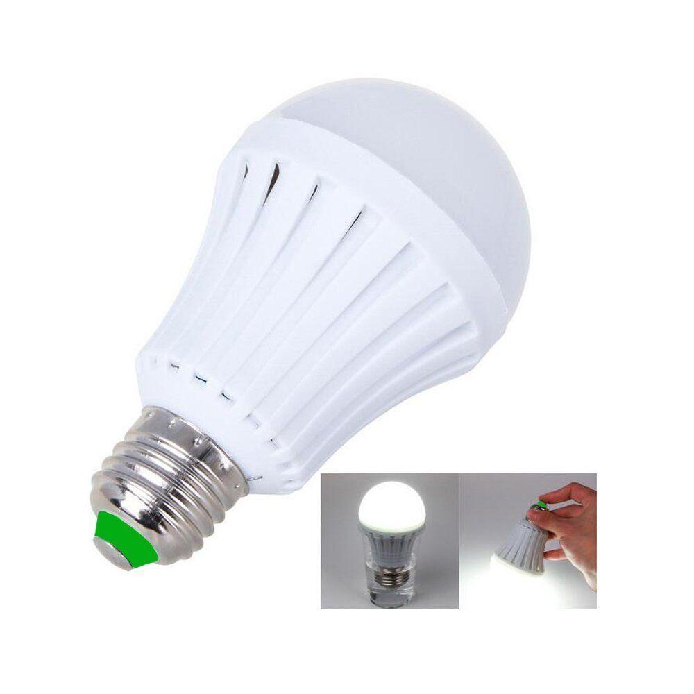 LED E27 Energy Saving Intelligent Emergency Bulb Lamp Light