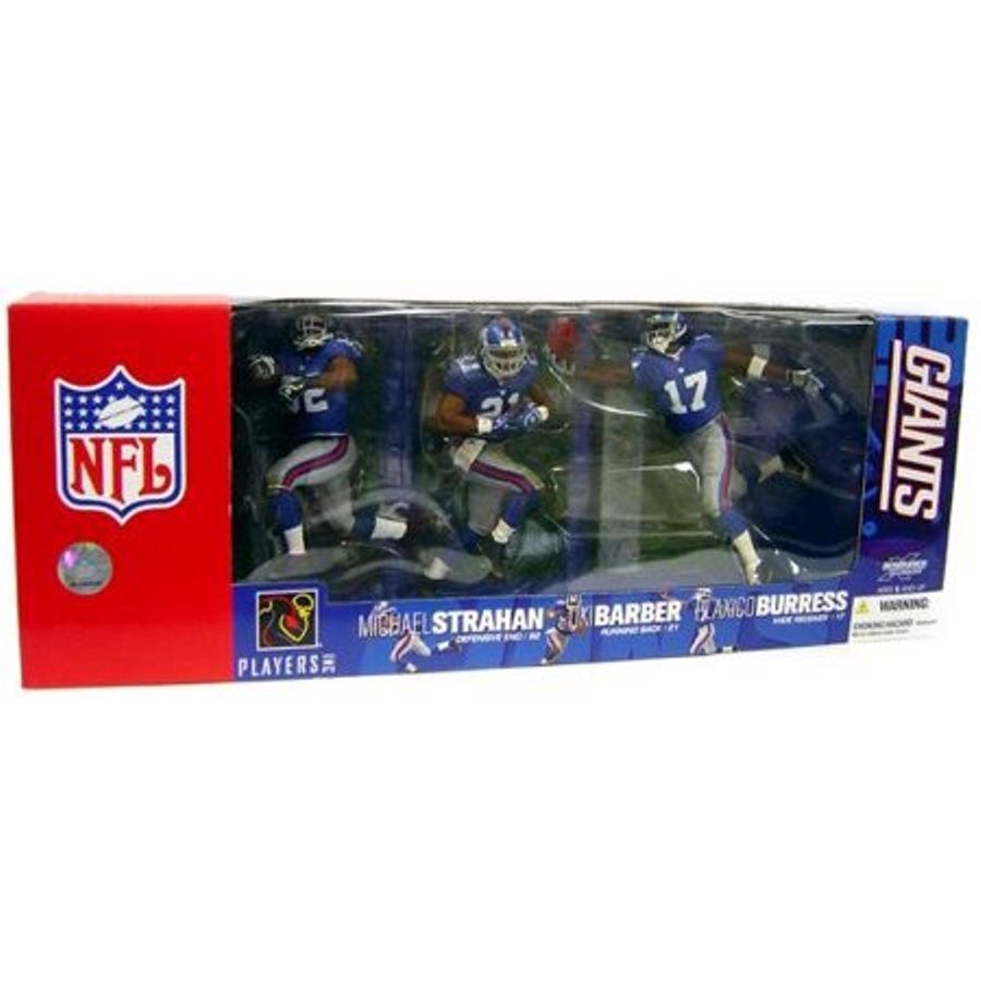 McFarlane New York Giants Super Bowl XLII Champions Strahan Barber Burress