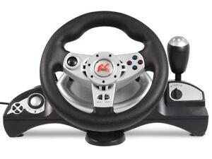 Volant-de-course-avec-pedales-PS3-PS2-USB-PC-Jeux-Ordinateurs-4-in1-RS600