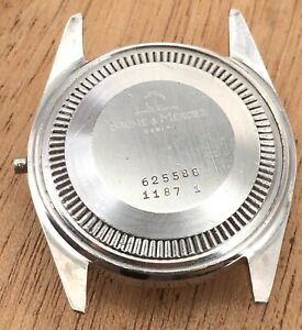 Baume-amp-Mercier-625588-Caja-1187-1-Case-Body-29-6-mm-B-amp-M-Genuine-Watch-Vintage