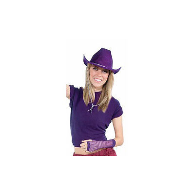Deluxe Pink Felt Cowboy Hat Party Cowboy Western Hat