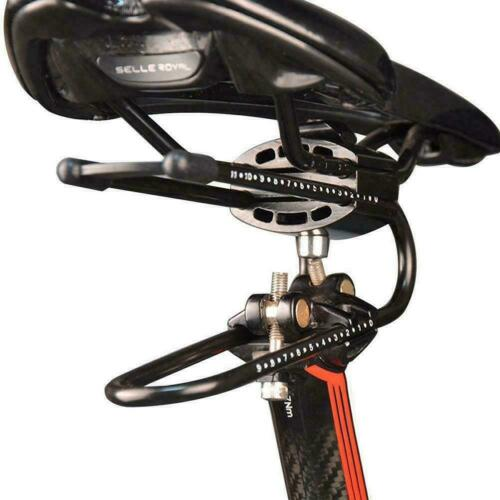 Adjustable Bicycle Saddle Suspension Device Shock Spring Absorber Aluminum W4M2
