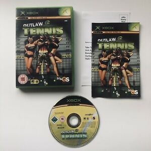 Outlaw Tennis (Microsoft Xbox Original, 2005) - PAL - Complete with Manual