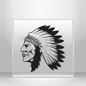 Decals Decal American Navajo Apache Cherokees Geronimo A19 3W9XX